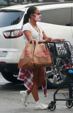 Christina Milian Going to dinner at Lala