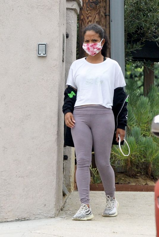 Christina Milian Heading out in Los Angeles