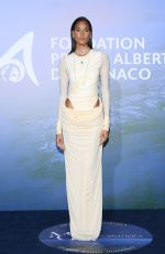 Cindy Bruna Attends the Monte-Carlo Gala For Planetary Health