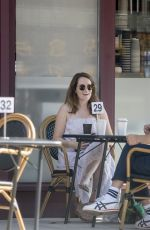 Claire Foy Having coffee in Hampstead North London