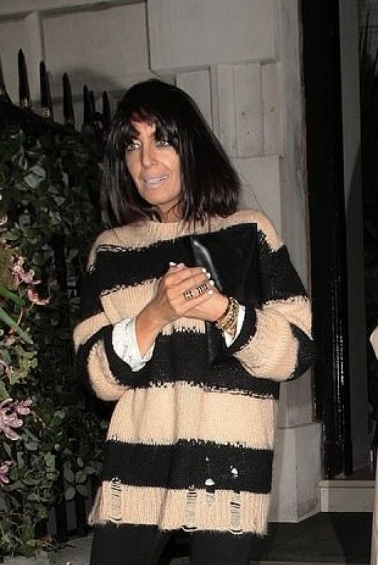 Claudia Winkleman Spotted outside of Annabel