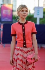 """Clémence Poesy At Premiere of the film """"Resistance"""" during the 46th Deauville American Film Festival in France"""