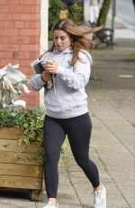 Coleen Rooney Out and about in Alderley Edge in Cheshire