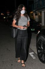 Courteney Cox Out to dinner in Santa Monica