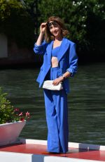 Cristiana Capotondi Arrives at Excelsior hotel during 77th Venice Film Festival