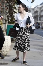 Daisy Ridley Out and about in London