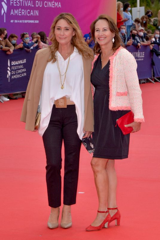 Daniela Lumbroso At Opening ceremony at 46th Deauville American Film Festival in France