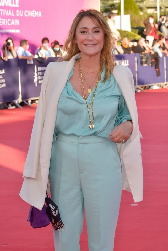 Daniela Lumbroso Attending the screening of the movie The Professor And The Madman during the 46th Deauville American Film Festival
