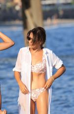 Danielle Bux Shows off her amazing bikini body at a beach day in Malibu