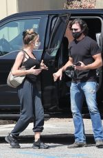 Denise Richards Out to eat in Malibu