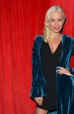Denise Van Outen After her performance at Proud Embankment in London
