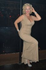 Denise Van Outen After the performace in cabaret at London