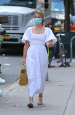 Dianna Agron Out and about in Soho