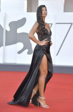 Elisa Maino Attending the Nomadland Premiere as part of the 77th Venice International Film Festival in Venice