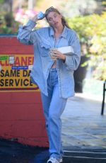 Elsa Hosk Getting coffee and pastries in LA