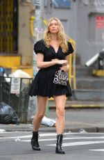 Elsa Hosk Out and about in NYC