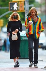 Elsa Hosk Out early morning for coffee in New York