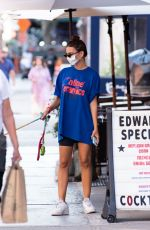 Emily Ratajkowski Back in NYC after vacationing in the Hamptons