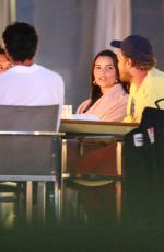 Emily Ratajkowski Spotted on a dinner date with her husband in the Hamptons