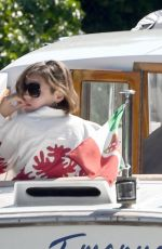 Emma Corrin Out and about in Venice, Italy