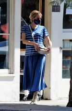 Emma Roberts Seen out shopping for flowers in Los Feliz