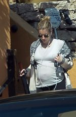 Emma Roberts Steps out displaying her growing baby bump in Los Angeles