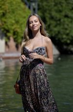 Ester Exposito Arriving at the Excelsior for the 77th Venice Film Festival in Venice, Italy