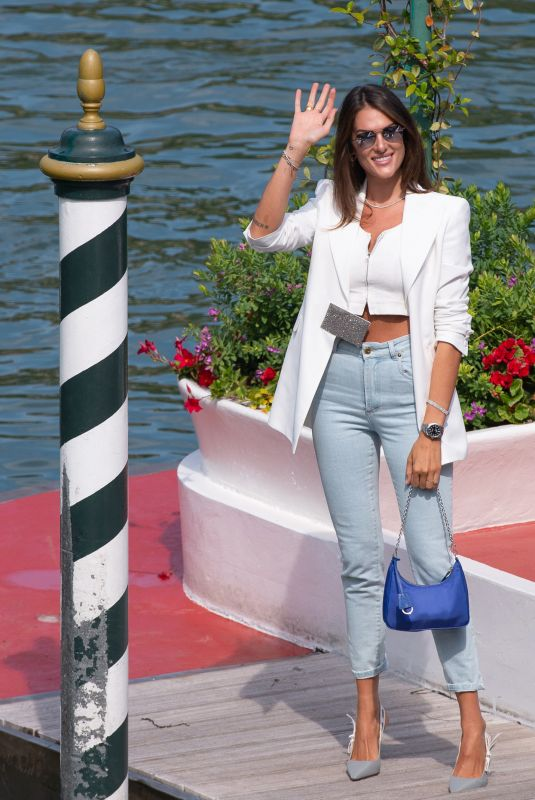 Francesca Sofia Novello Arriving at the Excelsior as part of the 77th Venice Film Festival in Venice