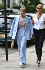 Georgia Harrison Heads for lunch with her mum in Hampstead