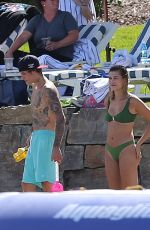 Hailey Bieber & Justin Bieber On the beach during their vacation in Idaho
