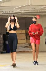 Hailey Bieber & Kendall Jenner Are seen grocery shopping in Los Angeles
