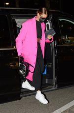 Hailey Bieber & Kendall Jenner Leaving Milan after visiting for Milan Fashions Week