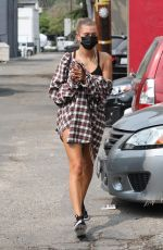Hailey Bieber & Kendall Jenner Seen out for lunch in West Hollywood