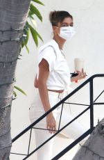 Hailey Bieber Seen out & about in West Hollywood