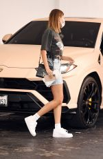 Hailey Bieber Spotted out & about in Los Angeles