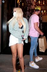 Harry Jowsey & Tana Mongeau Leaving dinner at Catch restaurant in West Hollywood