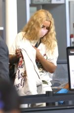 Iggy Azalea At the LAX airport in Los Angeles