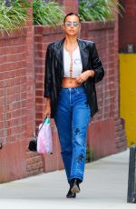 Irina Shayk Is pictured stepping out in New York