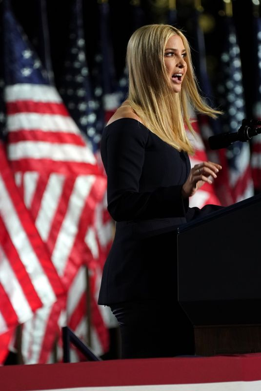Ivanka Trump At President Donald J. Trump formally accepting the 2020 Republican presidential nomination, Washington