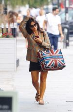 Jenna Coleman Out shopping in London