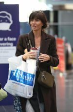 Jennifer Metcalfe At Manchester Picadilly Train Station