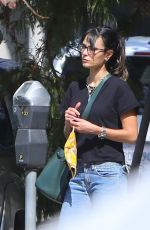 Jordana Brewster Goes out for lunch at Palisades Garden Cafe in Pacific Palisades
