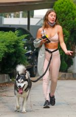 Julianne Hough Out on a hike in Los Angeles