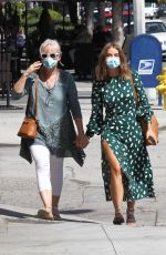 Julianne Hough Out with her mom in Studio City