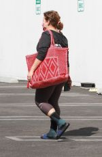 Justina Machado Heads out of the DWTS studio in Los Angeles