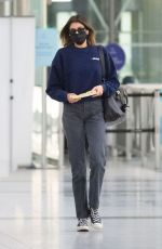 Kaia Gerber At JFK