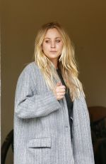 Kaley Cuoco Filming HBO MAX