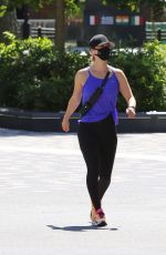 Kaley Cuoco Out for a walk in NYC
