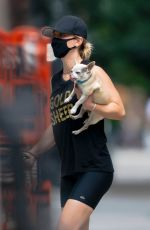 Kaley Cuoco Out in New York
