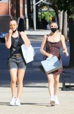 Kaley Cuoco Shopping with her sister Briana in NYC